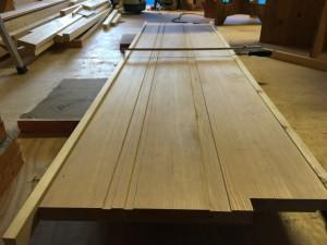新築 木製サッシ枠