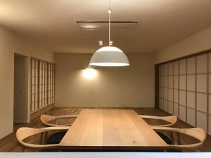 撫川の家 夜01