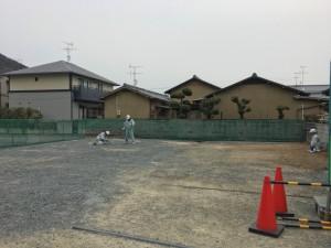 地盤改良工事 津島福居の家