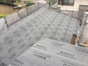津島福居の家 屋根