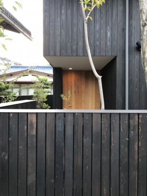 アトリエの玄関