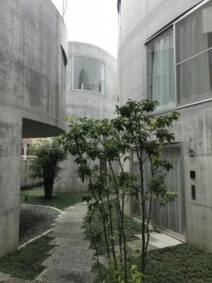 大倉山の集合住宅