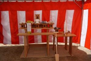 国府市場の家 地鎮祭
