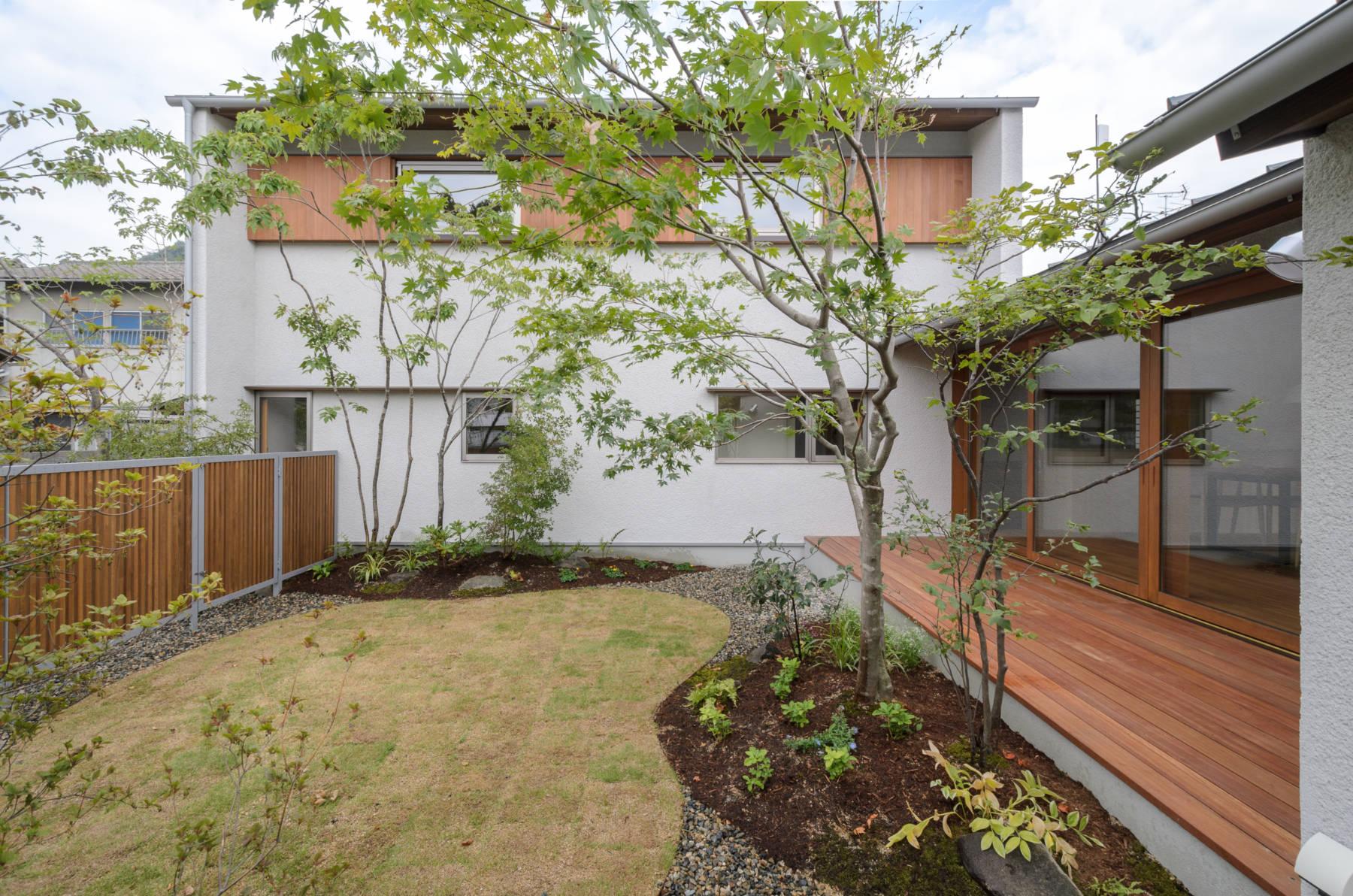 津島福居の家 大開口の自然素材の家