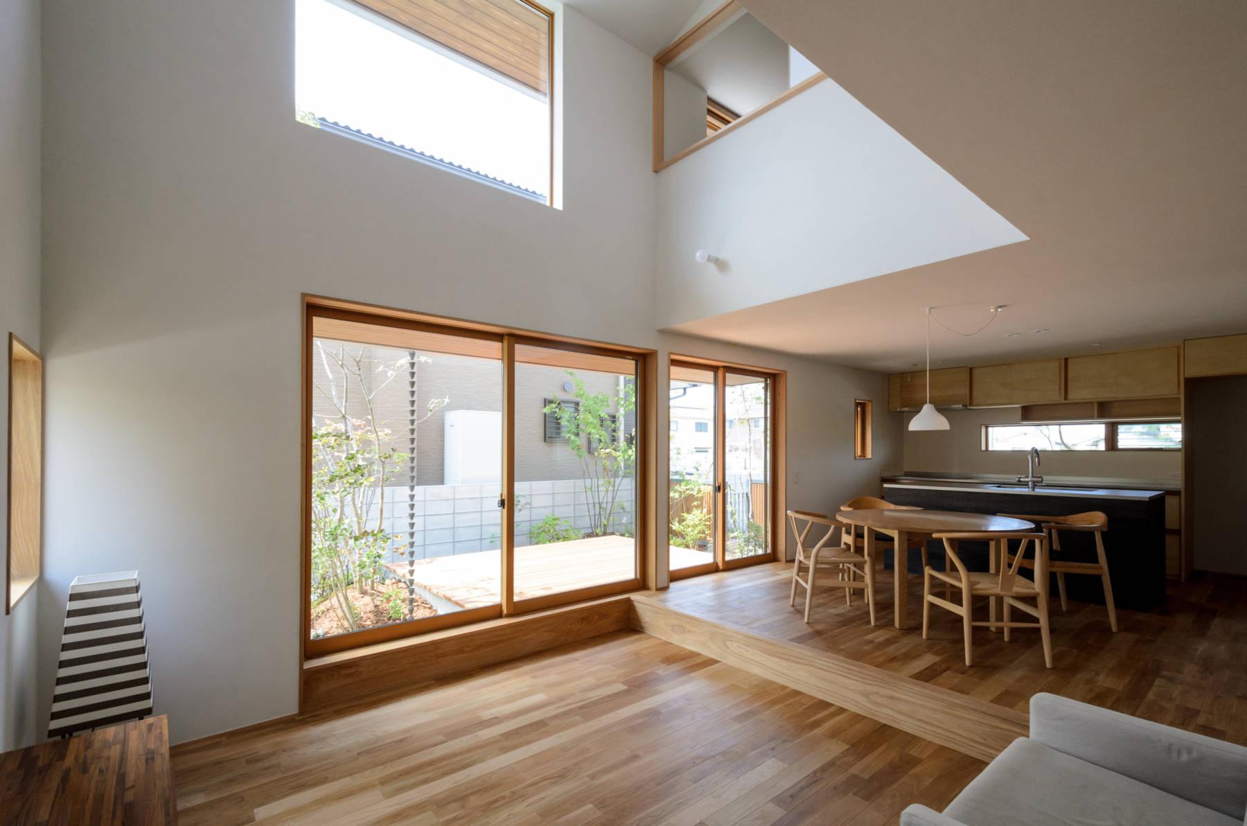Okayama T.K_House オーダーキッチンのある自然素材の家